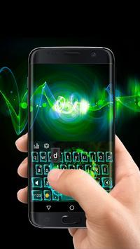 1 Schermata Neon Music Headphone Keyboard Theme