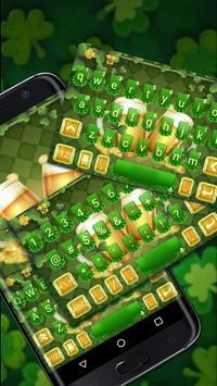Cheers St Patrick Beer Free Emoji Theme poster