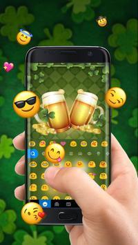 Cheers St Patrick Beer Free Emoji Theme screenshot 2
