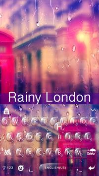Grace Rainy London Free Emoji Theme poster