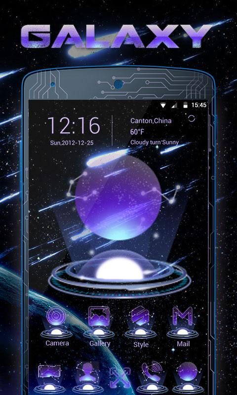 Galaxy V Launcher Theme For Android Apk Download