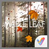 Maple Leaf 3D V Launcher Theme icon