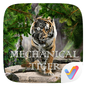 Mechanical Tiger 3D V Launcher Theme icon
