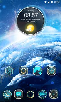 Aurora 3D V Launcher Theme screenshot 1