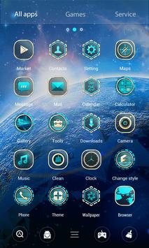 Aurora 3D V Launcher Theme screenshot 2