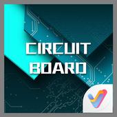 Circuit Board 3D  V Launcher Theme icon