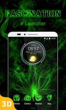 Fascination 3D V Launcher Theme poster