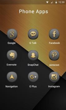 Glory V Launcher Theme apk screenshot