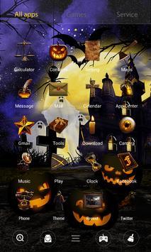 Halloween Dynamic V Launcher Theme screenshot 2
