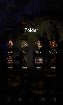 Halloween Dynamic V Launcher Theme screenshot 3
