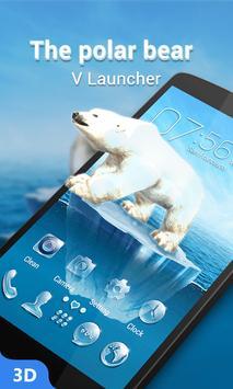 The Polar Bear 3D V Launcher Theme poster