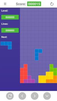 Classic Tetris screenshot 1