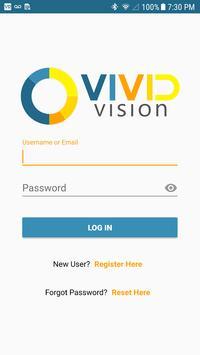 Vivid Vision Launcher poster
