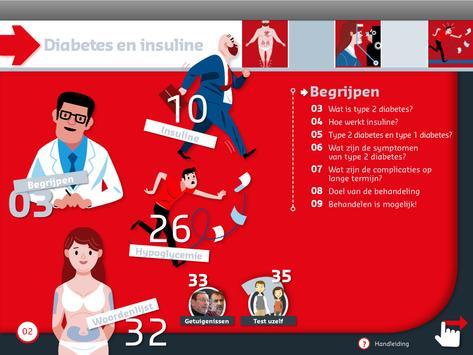 Diabetes en insuline e-Gidsen screenshot 5