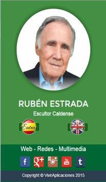 Ruben Estrada Escultor poster