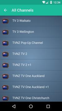 New Zealand TV apk screenshot