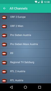 Austria TV apk screenshot