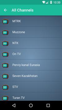 Kazakhstan TV apk screenshot