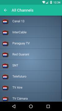 Paraguay TV apk screenshot