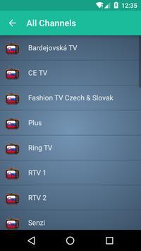 Slovakia TV apk screenshot
