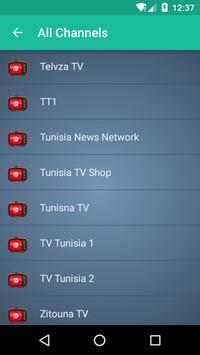 Tunisia TV apk screenshot