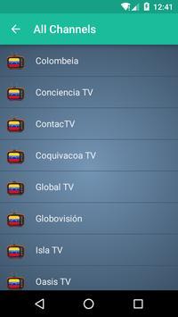 Venezuela TV apk screenshot