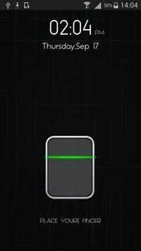 Finger Print screen lock prank apk screenshot