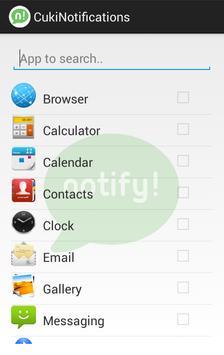 CukiNotifications screenshot 4