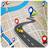 Local Map & Nearby places | GPS route genertor. icon