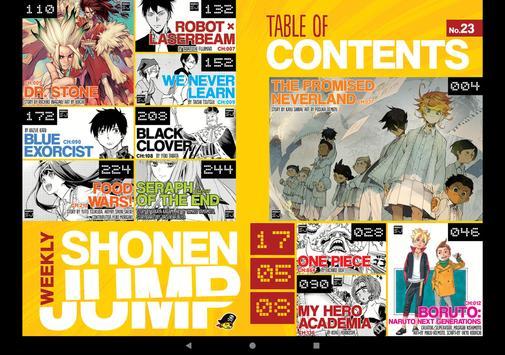 Shonen Jump Manga Reader スクリーンショット 8