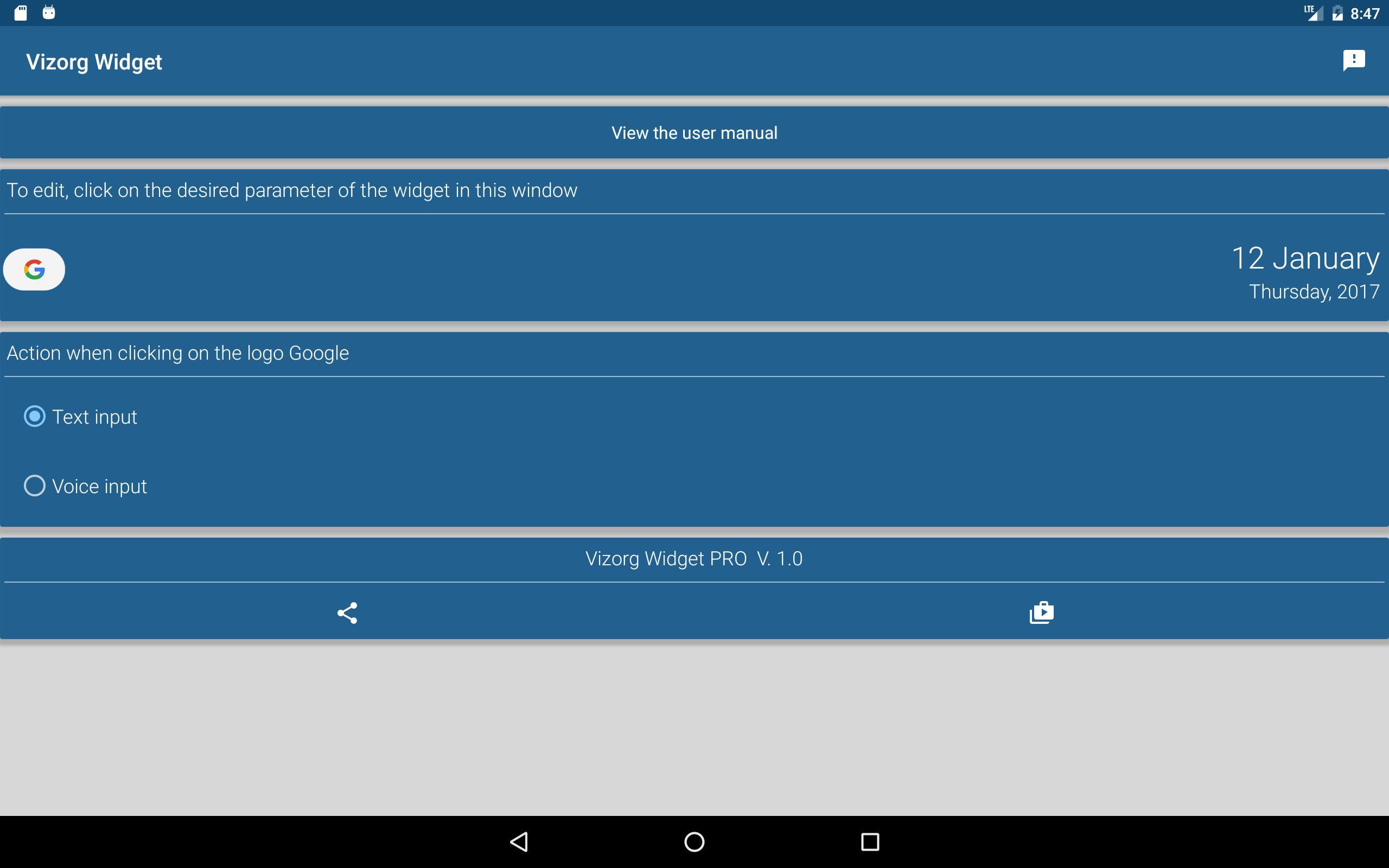 Vizorg Widget for Android - APK Download