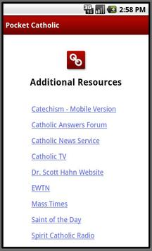 Pocket Catholic apk screenshot