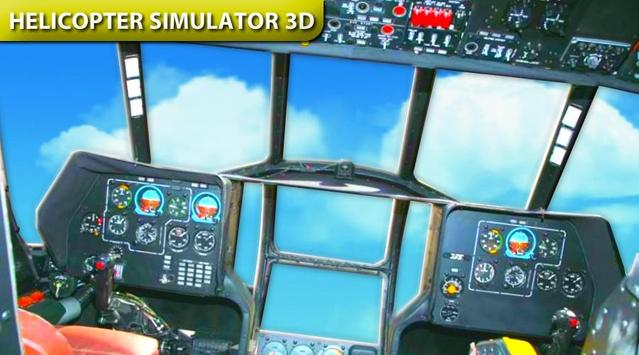 Helicopter Driving Simulator poster