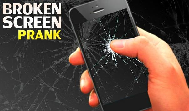 Broken Screen Finger joke apk screenshot