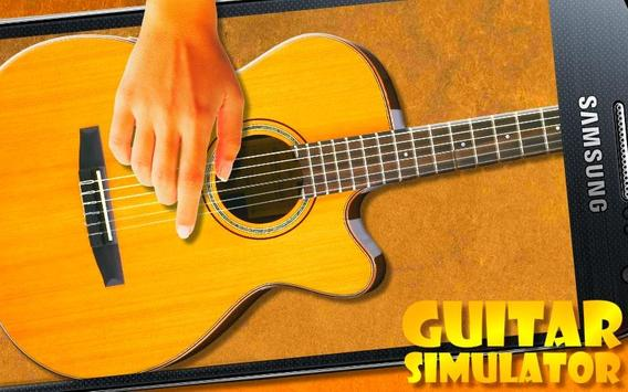 Play Guitar simulator poster