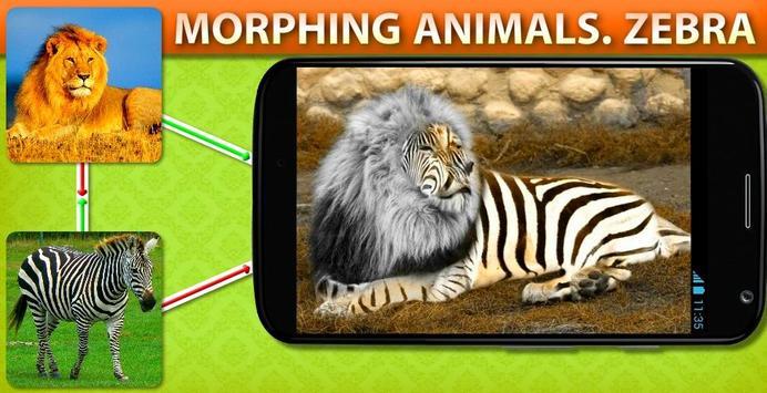 Morphing Animal Zebra apk screenshot