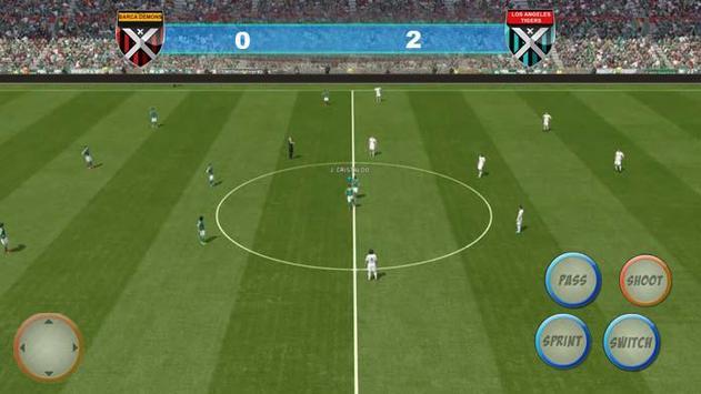 Winning Soccer Eleven 2017 captura de pantalla 3