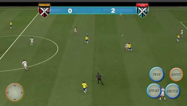 Winning Soccer Eleven 2017 captura de pantalla 2