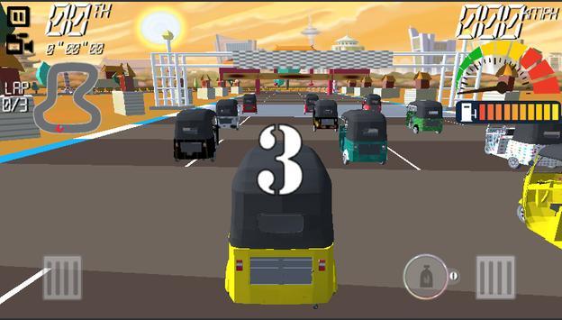 TUK TUK  Auto Racing 3D apk screenshot