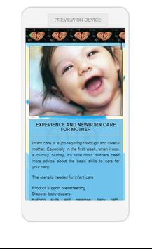 Care Guide Baby screenshot 1