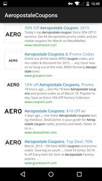 Coupons for Aeropostale poster