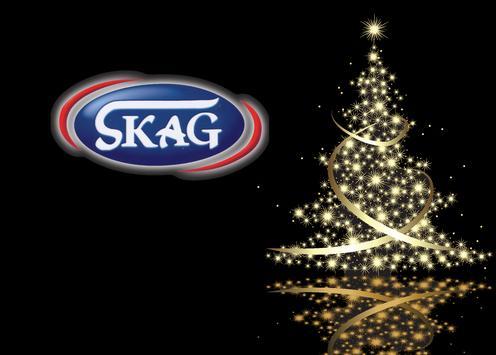 SKAG Xmas App poster