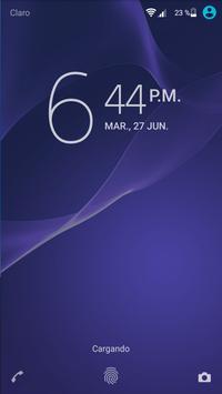 Moder Air Xperia theme - Guetto apk screenshot
