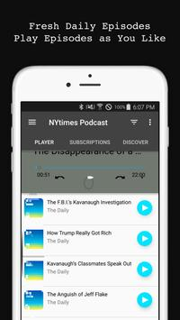 The Daily Podcast screenshot 1