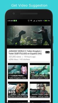 JustPlay online video player apk screenshot