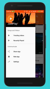 JustPlay online video player poster