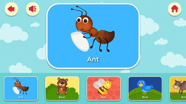 English for kids - Flashcard for kids poster