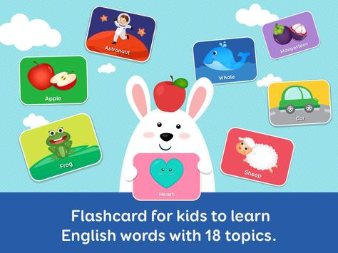 English for kids - Flashcard for kids screenshot 8