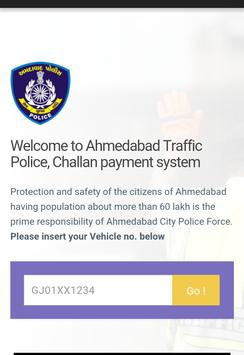 eChallan Amdavad online pay poster