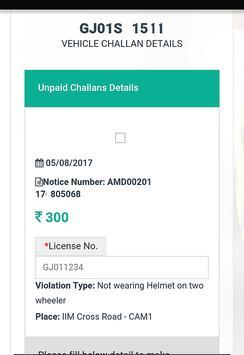 eChallan Amdavad online pay apk screenshot